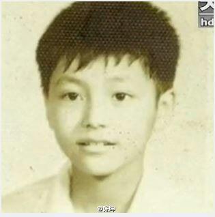 陈坤少年时帅气