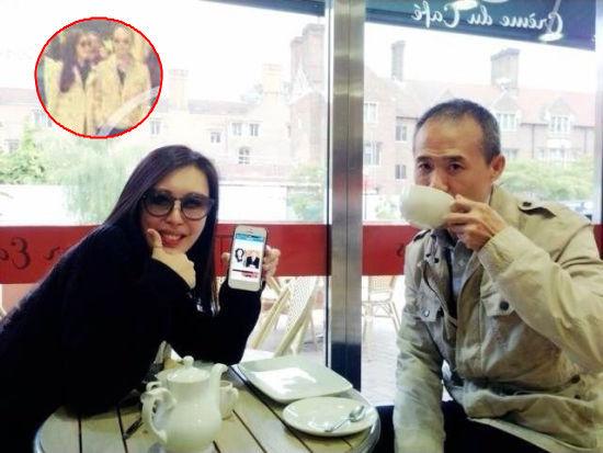 10月初田朴�B王石同游英国,9月底二人纽约街头散步被拍