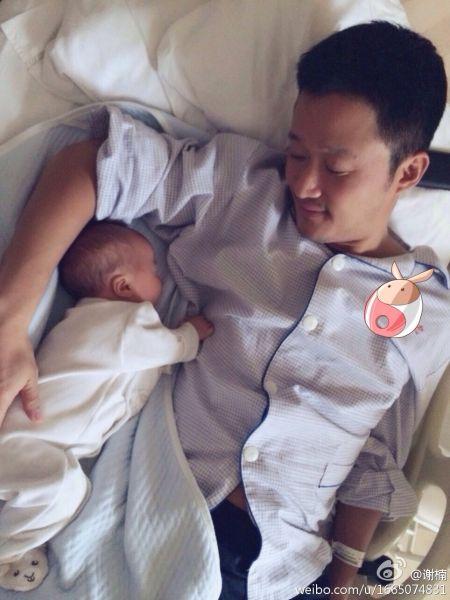 吴京和儿子