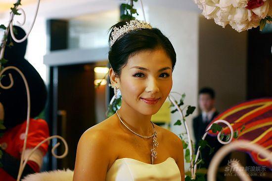 图文:刘涛婚礼现场美丽的新娘