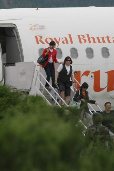 图文:婚礼嘉宾抵达不丹--著名经纪人邱璃宽