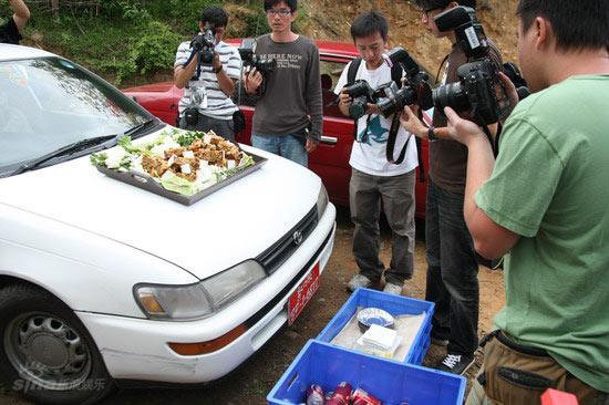 图文:伟玲不丹大婚--婚礼所用美食