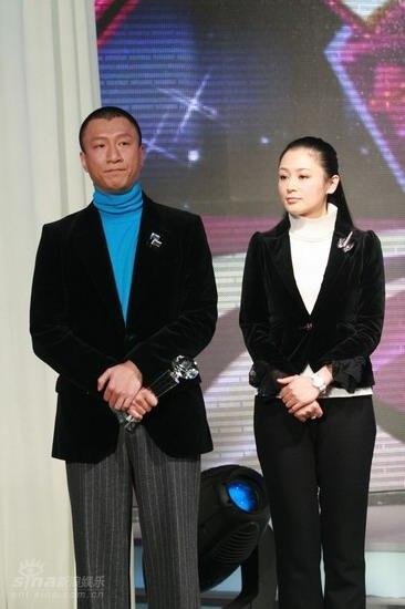 图文:BQ红人榜现场孙红雷和陈红
