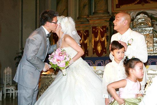 图文: 张卫健张茜 大婚--苏永康