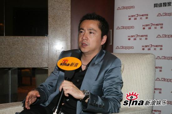 华谊兄弟传媒集团2009战略联盟发布会后,老总艺人接受新浪娱乐专访