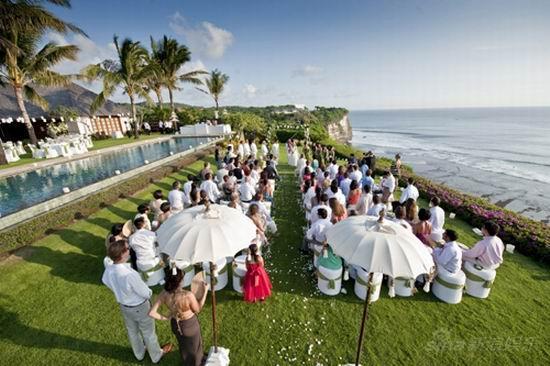 图文:黎亚结婚美图-婚礼现场