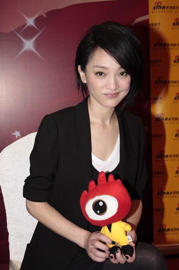 图文:华谊明星汇独家专访--周迅与小浪人