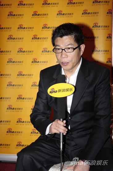 图文:华谊明星汇独家专访--王中军接受访问
