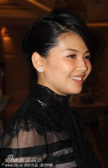 女星刘涛产后首度现身