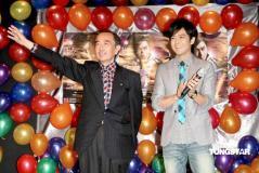林志颖生日会宣布去年订婚儿子今日满月(组图)