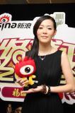 实录:新浪09网络盛典年度女歌手张悬专访