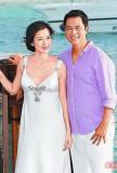 林熙蕾今日马尔代夫成婚爱之船拍浪漫婚照(图)