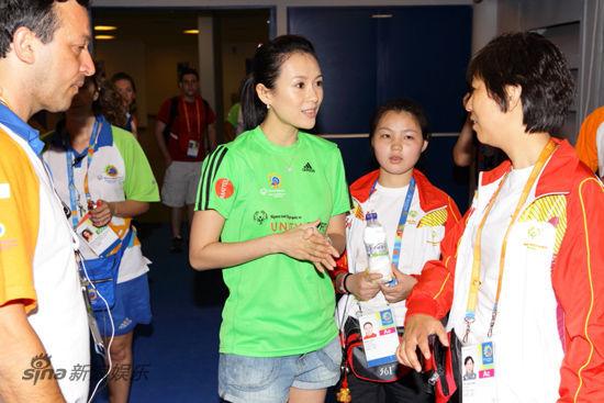 探访特奥中国体操团