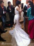 组图:谢娜张杰大婚仪式新人热吻喜极而泣