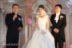 刘小锋朱墨结婚众星道贺刘威儿子担当花童(图)