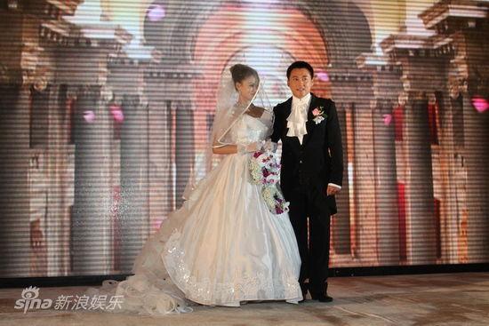 新郎新娘亮相