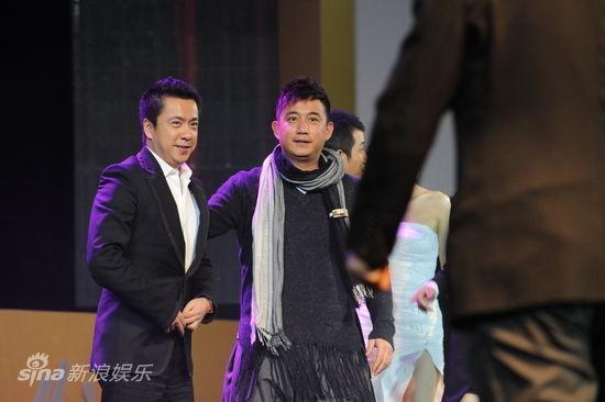 图文:盛典现场-王中磊和黄磊