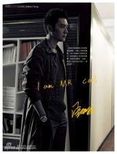 冯绍峰登香港杂志封面艺术气质源于父母(组图)