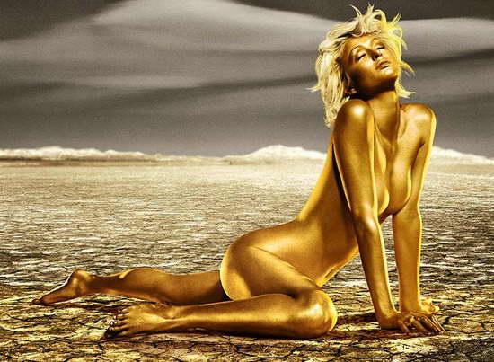 帕丽斯全裸出镜宣传香槟与船王后裔重修旧好