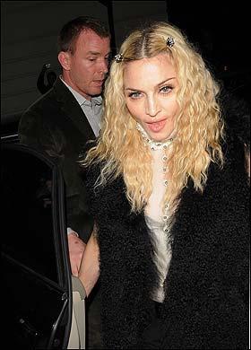 英媒独家披露麦当娜将与老公盖-里奇离婚(图)