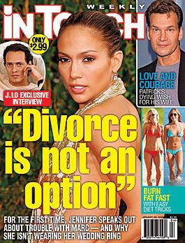 传詹妮弗-洛佩兹将离婚当事人:不可能!(图)