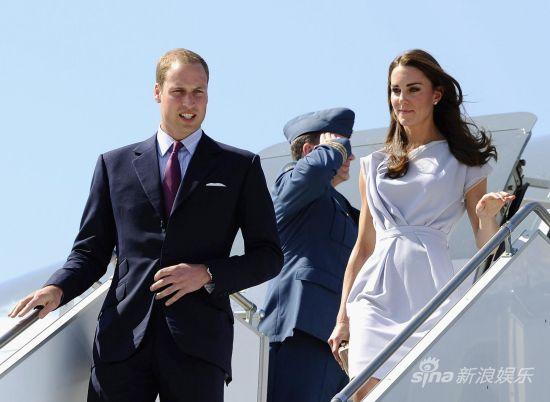 威廉王子和凯特王妃(资料图)