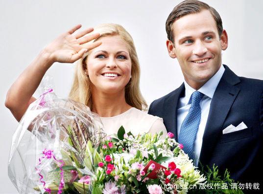 组图:瑞典小公主宣布订婚被誉为欧洲最美公主