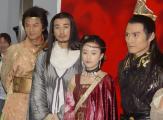 组图:何润东高圆圆古装宣传《秦王李世民》