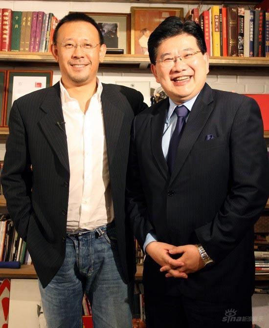 《可凡倾听》姜文上海接受专访谈电影创作(图)