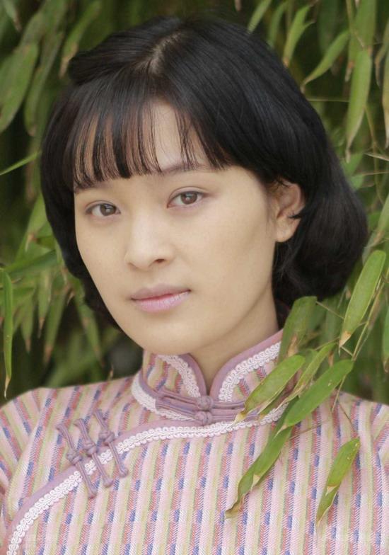 资料图片:《狼烟北平》主演--马境饰演杨秋萍