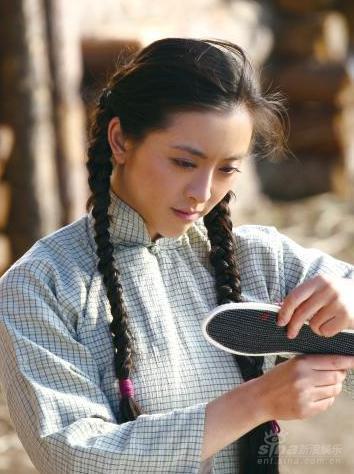 资料:电视剧《北大荒》--黄小蕾饰演罗微微
