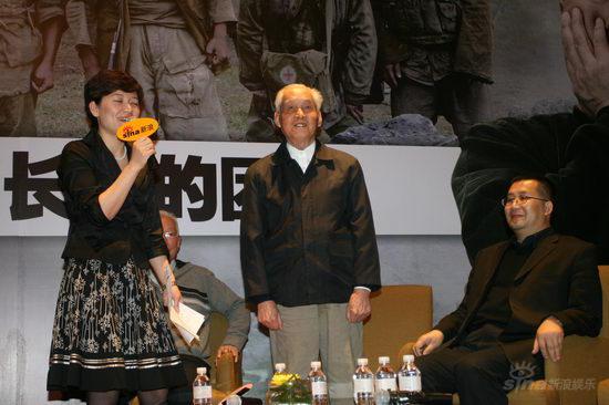 实录:老兵代表赵振英尤广才勇敢直面尘封历史