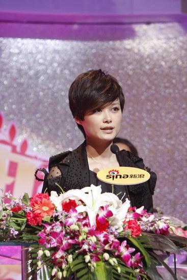 详讯:李宇春获得年度最具号召力艺人荣誉