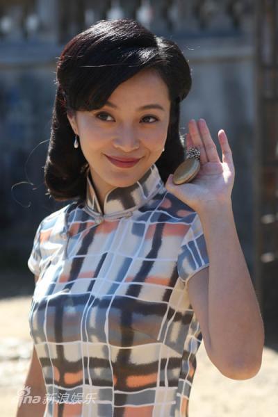 资料图片:电视剧《青盲》剧照-苏岩饰张兰