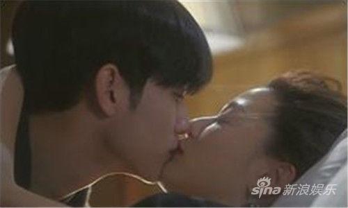 全智贤金秀贤《星星》中第一吻