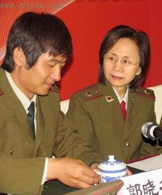 郭晓冬解读《大校的女儿》被称为王海�_自传