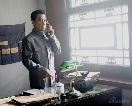 黄河两岸大雪纷飞《东方红》剧组进驻陕北