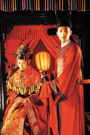 新版《红楼梦》开年见喜宝玉元旦成婚(图)
