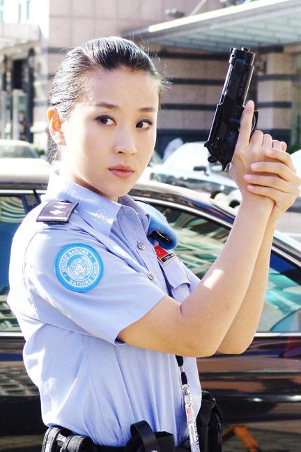 《维和警察》即将开播苗圃成女警代言人(图)