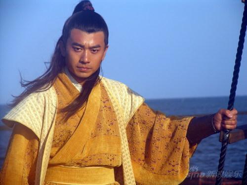《郑和》落幕侯祥玲被评最帅最酷的海盗(图)