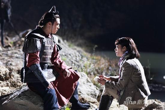 《秦俑情》将杀青杜淳:和安以轩不能深情对望