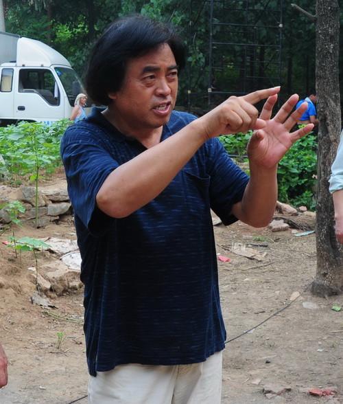 名导张绍林在《沈浩》