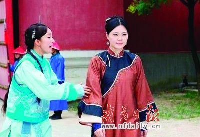 大清皇宫发现自来水管(红圈处)。