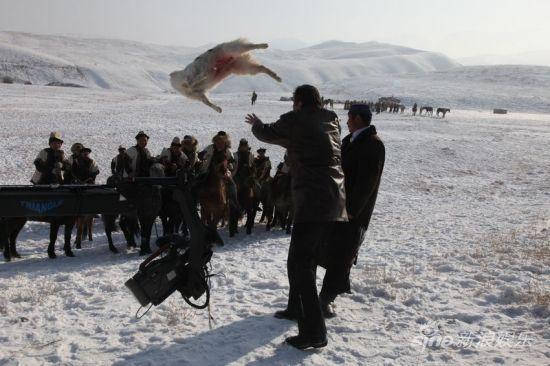 雪地叼羊大赛