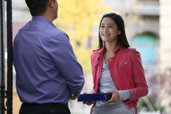王媛可笑容甜美