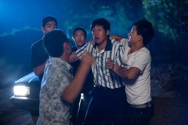 2010年8月8日拍摄:多人殴打