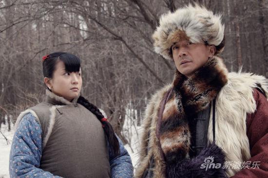 白荟(饰庄青草)和张明健(饰武志国)