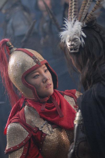 扈三娘刘筱筱意外走红