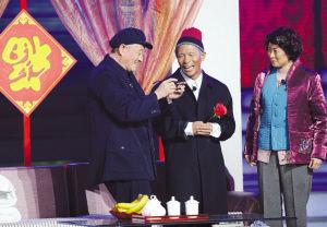 继辽台春晚后,赵本山又把宋小宝和赵海燕带上央视舞台 资料图片图片