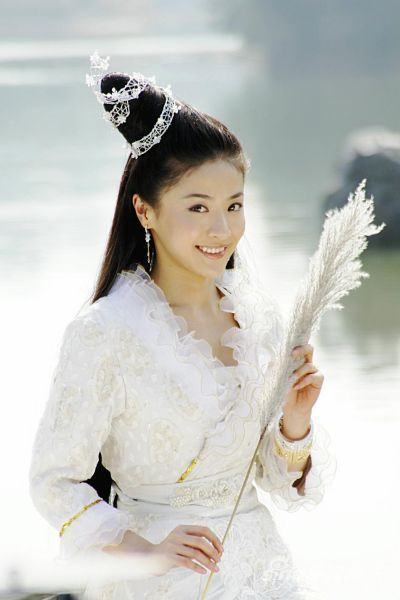 《仙女湖》贡米仙女装造型